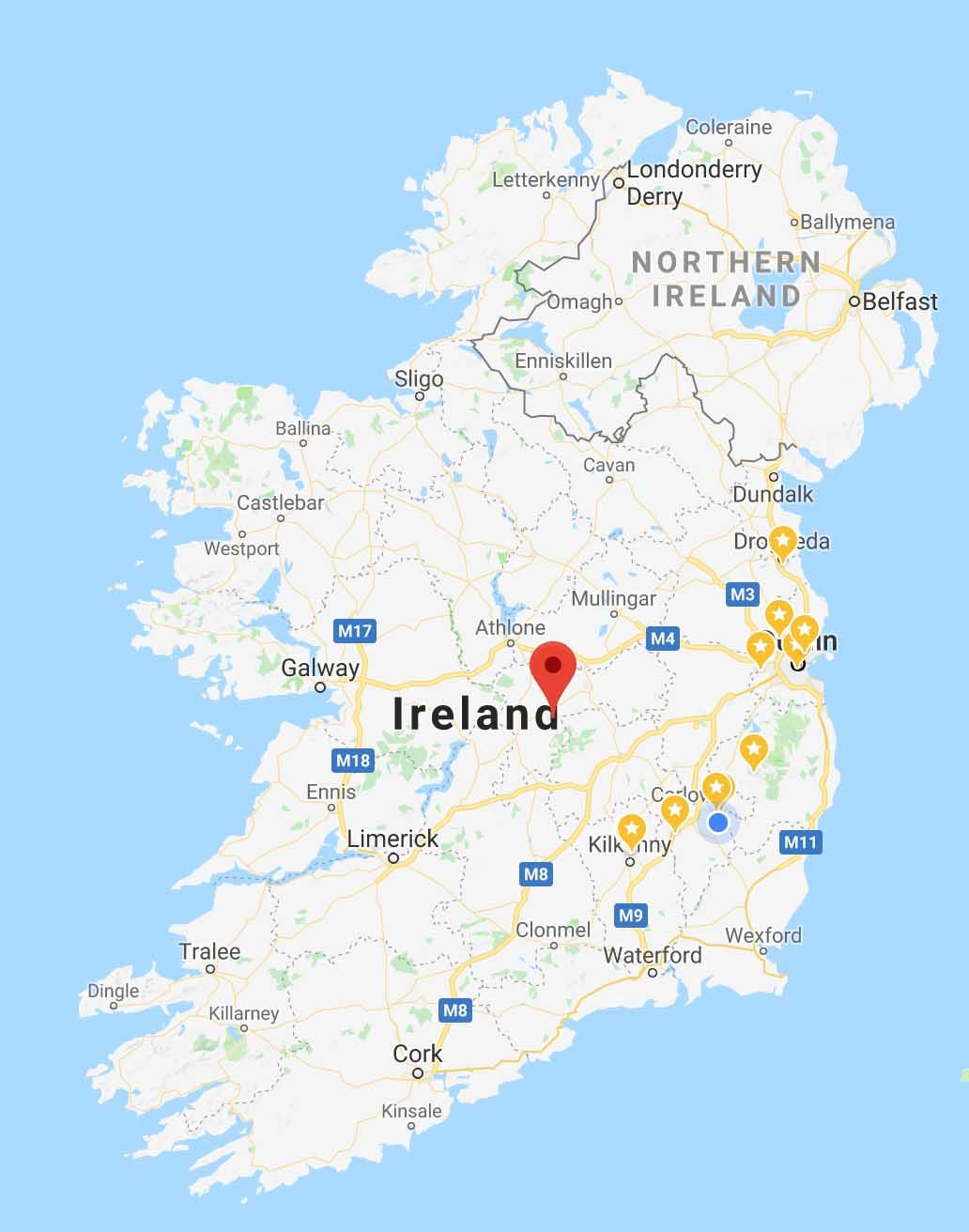 Map Of Ireland Jpg.Map Of Ireland Home And Community Care Ireland
